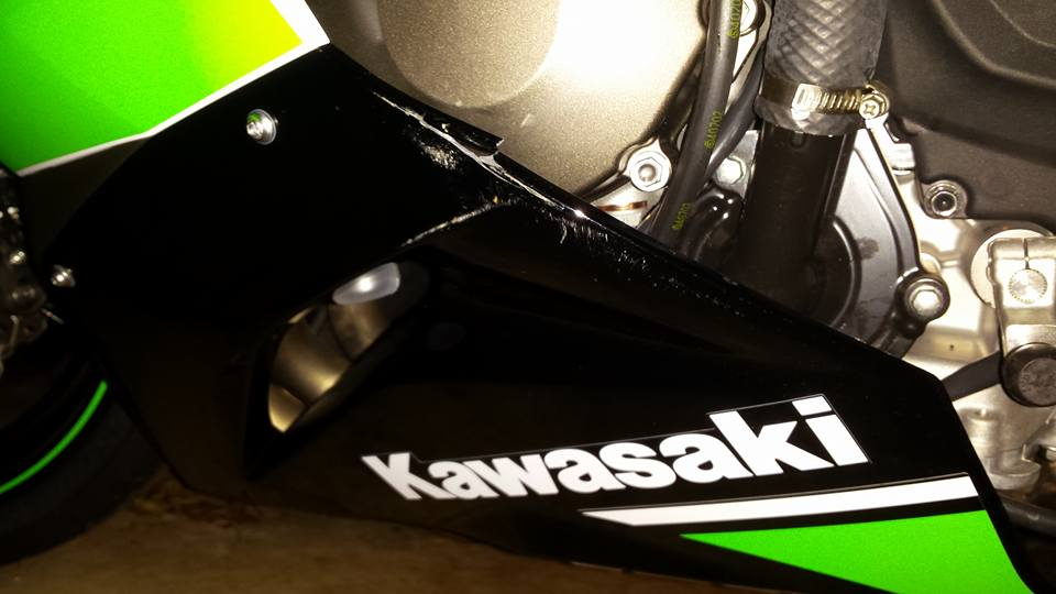 Impaktech Crash Cage? - ZX6R Forum