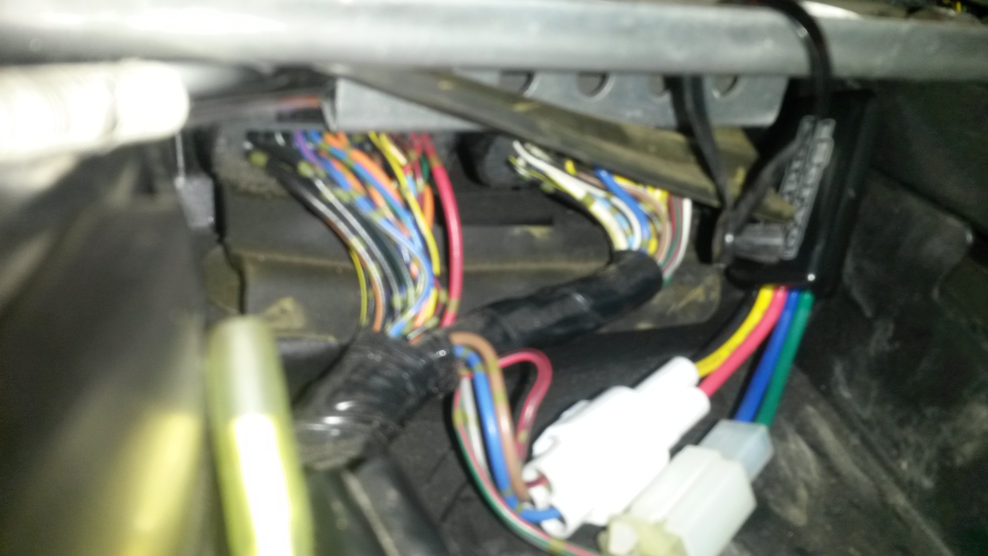 Should I Move My Ecu On 05 Zx636 With Aftermarket Exhaust Zx6r Forum Wiring Harness Click Image For Larger Version Name 20160319 131156 Views 102 Size 160
