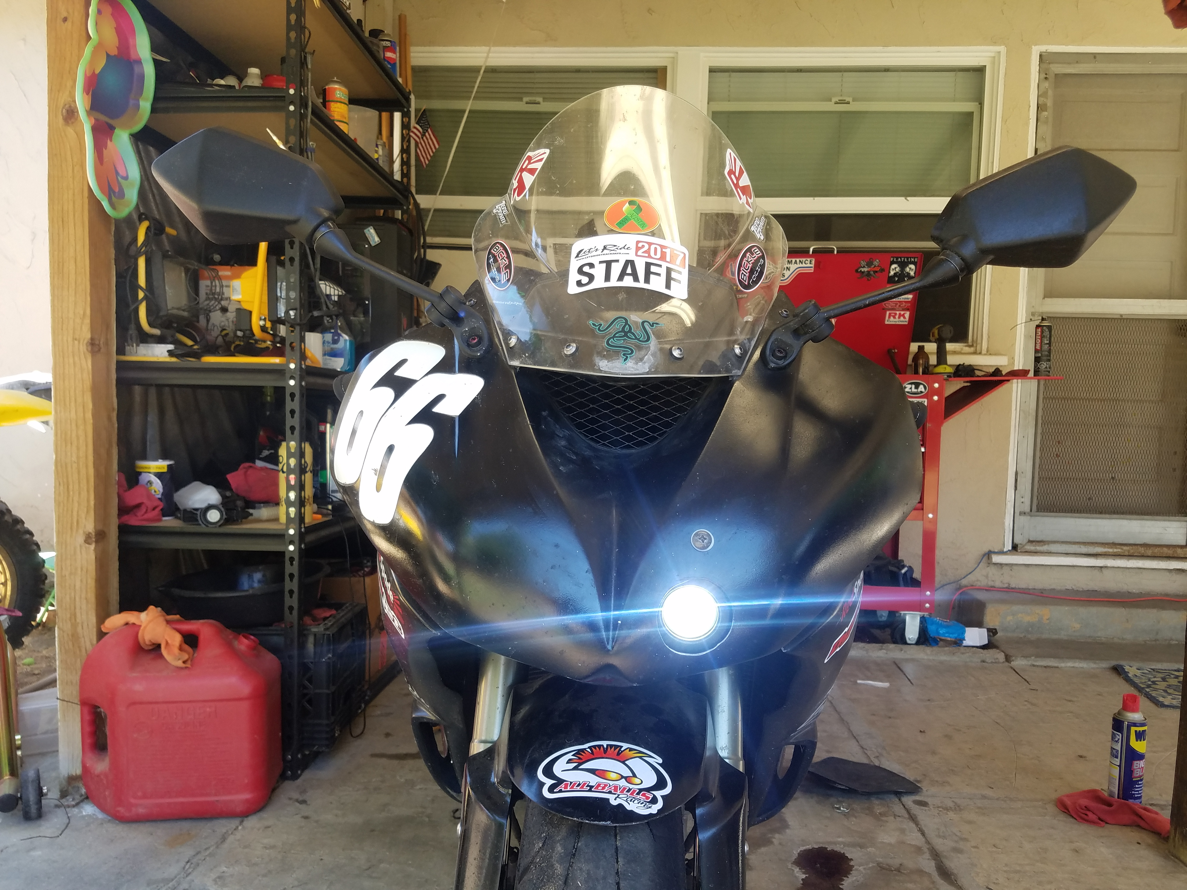 How to retrofit 2013 fairings on 03-04 - ZX6R Forum
