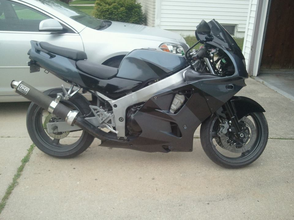 1996 ZX6R Frame And Swing Arm Ideas