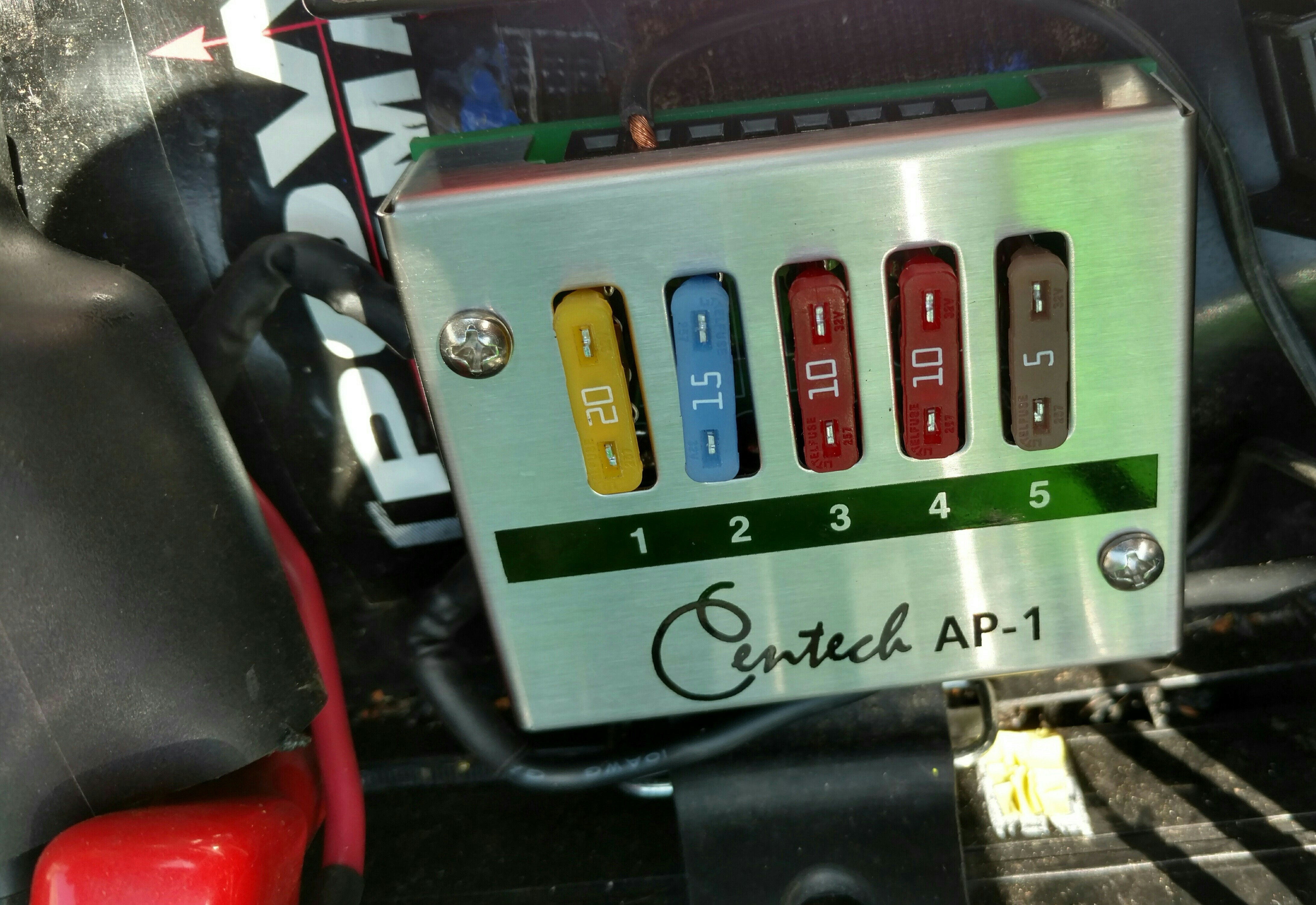 Lithium Treatment Zx6r Forum Fuse Box Motorcycle Click Image For Larger Version Name Centech 2 Views