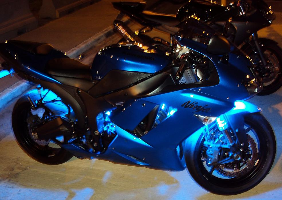 24 Led Blue Strip Zx6r Forum