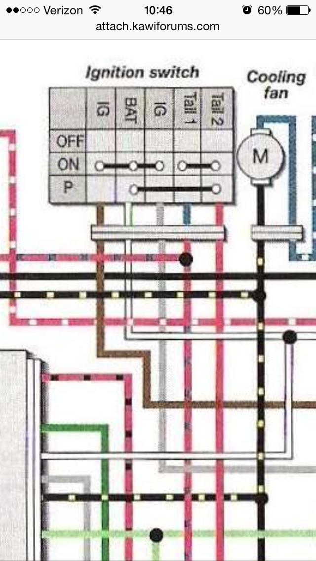 kawasaki zx600 wiring schamatics diy wiring diagrams u2022 rh newsmoke co zx600 wiring diagram Kawasaki Mule Wiring-Diagram