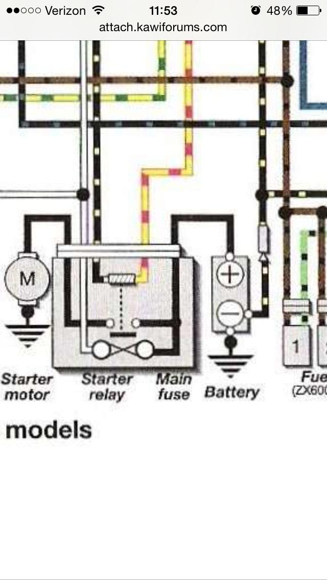 need help 99 track bike going keyless zx6r forum rh zx6r com Basic Electrical Schematic Diagrams Basic Electrical Schematic Diagrams