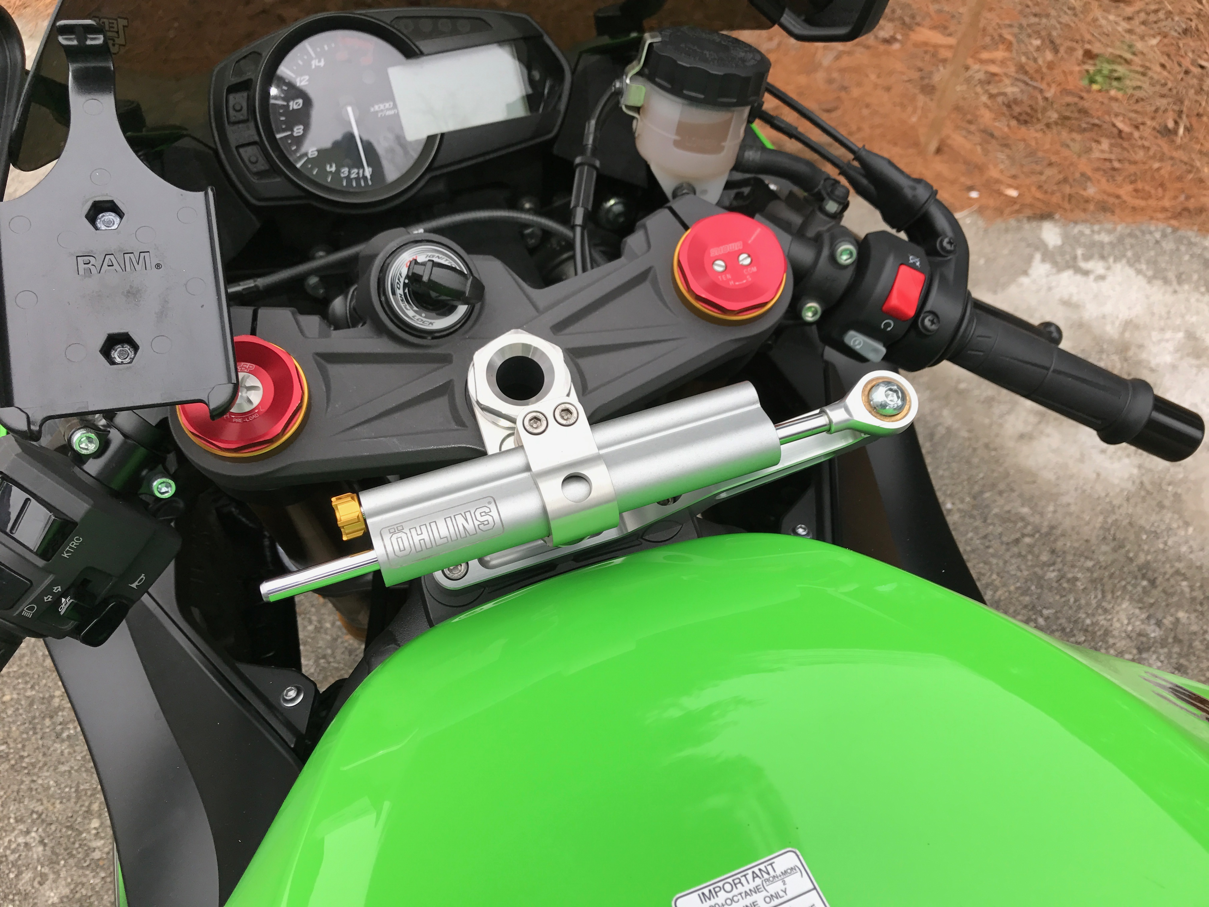 Is a steering damper necessary? - ZX6R Forum