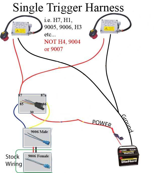 12326d1343610737 hid high beam problem single_harness h1 excellent hid kit wiring diagram photos simple wiring diagram