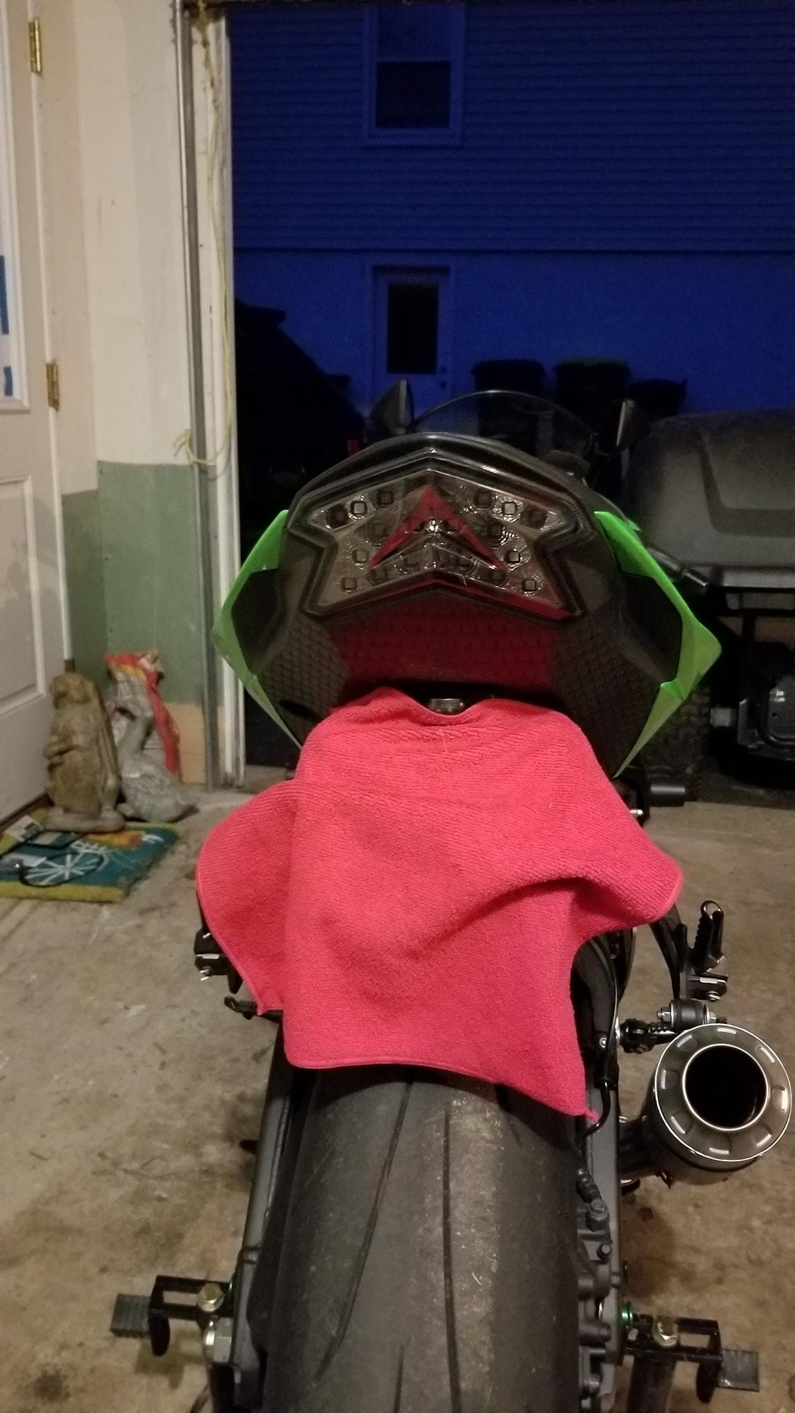 Dead battery after riding - ZX6R Forum