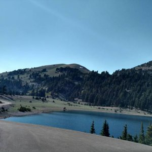 Lake in Lassen