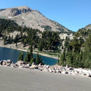Another Lake in Lassen, pt1